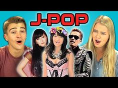 Watch American teens react to J-pop music videos for the first time