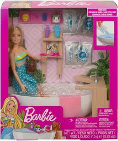 Bath Doll, Barbie Toys, Barbie Playsets, Baby Barbie, Mattel, Bath Fizzies, 7 Year Olds, Barbie And Ken, Barbie Kelly