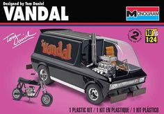 Monogram® Tom Daniels' Vandal Plastic Model 1/24 scale Kit # 85-4926. Available for a limited time only!