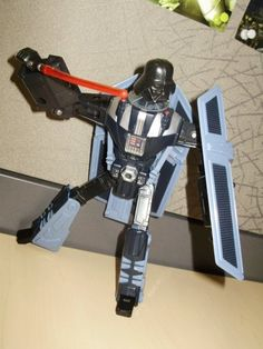 Star Wars Transformers Crossover Darth Vader (Robot Mode) - from my personal collection