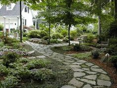 1000 images about walkways on pinterest stepping stone - Stepping stones for walkways ...