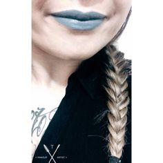Grey Matte Lipstick in Space Cale | Melt Cosmetics on Self