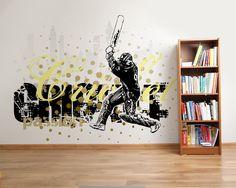 Wallpaper Sticker CRICKET PASSION by Sticky!!!