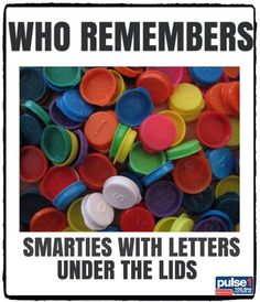 I do!  We used to use these plastic cap letters in various projects.  Why change the habit of a lifetime? To save money I guess but then they taste so DULL these days, too.  Bring back the orange ones!