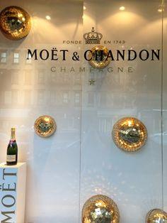 Moet & Chandon window display