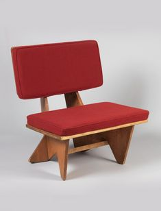 Frank Lloyd Wright; Plywood 'Usonian' Chair, c1950.