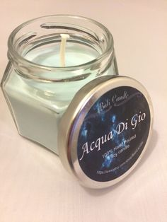 LIMITED TIME SALE  Aqua di Gio Scented Soy Candle men's candle Groomsmen Gift / Men's gift idea/ Father's Day gift by BaliCandle on Etsy https://www.etsy.com/listing/223223345/limited-time-sale-aqua-di-gio-scented