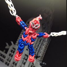 Tutoriel en français Spiderman elastique
