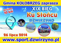 Bieg ku Słońcu - Dźwirzyno 26.07.2014