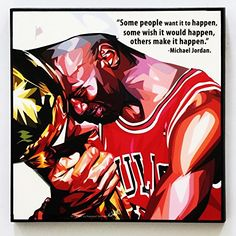 Michael Jordan Quotes Wall Decor Picture Pop Art Gifts Portrait Photo Art Decals Framed Room Home Decorations Famous Paintings on Acrylic Canvas Poster Prints Artwork #2