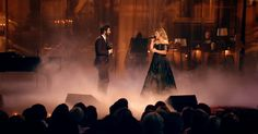 Josh Groban and Kelly Clarkson All I Ask of You. @britlovesfinn have you seen this?