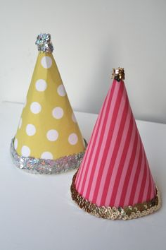 Our party hats for NYE
