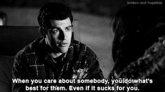 And find the person you want to be selfless for. | 29 Honest Pieces Of Dating Advice From New Girl