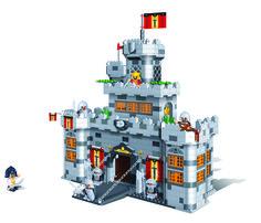 Chateau Banbao 988 pièces - Idée cadeau idéale pour garçon de moins de 13 ans - Plan de construction et modélisation 3D - By MGM www.mgmjouet.com - #Kids #Toy #Construction #Jeu #Créatif #Idées #Cadeaux #Enfants #Jouet