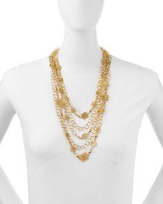 Ornament Multi-Strand Necklace · Jose & Maria Barrera