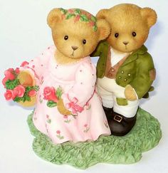 Heidi´s Cherished Teddies Galerie: LIZZIE and DARCY - Never Too Proud To Discover True Love (4009575)