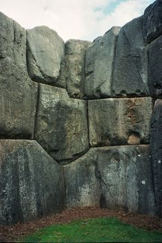 Saksaywaman, Cuzco, Peru — by freetobe_mel. Sacsayhuaman is a walled complex north of Cusco. Like other Inca constructions it is made of large polished stone...