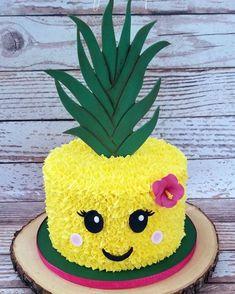 Hawaii Luau Party Ideen, Hawaii Luau Partyzubehör - [board_name] - Kuchen Flamingo Party, Flamingo Birthday, Flamingo Cake, Thema Hawaii, Pinapple Cake, Pinapple Birthday Cake, Luau Cakes, Pool Party Cakes, Luau Party Supplies