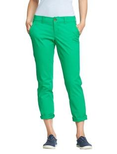 Me encanto el shado de verde. Estas cortos, pero no los pantalones.