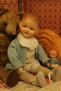 100-year-old-23-composition-and-straw-stuffed-jointed-antique-vintage-baby-doll