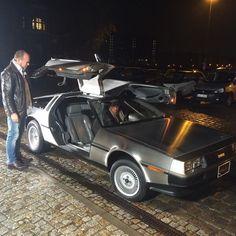 #DeLorean #sat1frühstücksfernsehen #backtothefuture