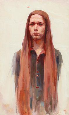 академическая живопись акварель портрет - Поиск в Google
