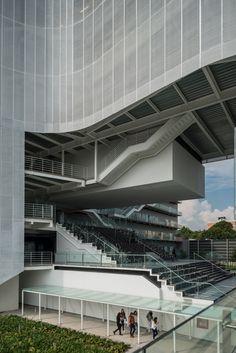 enrique norten arranges centro university's new campus around a green plaza