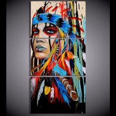 Proud Native American Canvas