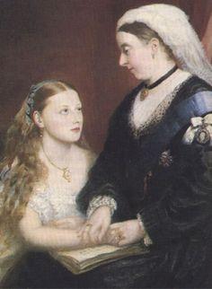 Queen Victoria and Princess Beatrice