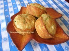 Zucchini Pineapple Muffins ~ The Southern Lady Cooks