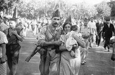 Barcelona, 25 de julio de 1936. La columna García Oliver parte hacia el frente de Aragón