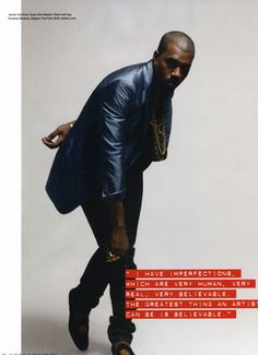 i-D Magazine: Kanye West Interview | Hypebeast