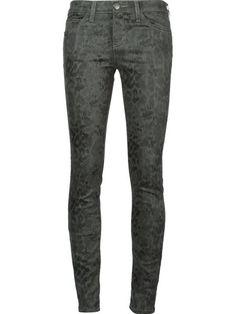 Love these jeans. Wear them like you would your black jeanCurrent/Elliott snakeskin print skinny jeans in Jofré | Pretty Little Liars