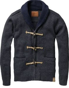 So Adorable Sexy ! Scotch Soda Toggle Cardigan