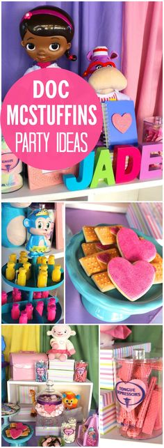 So many great ideas at this Doc McStuffins party! See more party ideas at CatchMyParty.com!