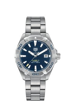 Tag Heuer, Automatic Watch, Hands, Crown, Steel, Watches, Easy, Blue, Products