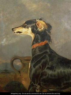 Queen Victorias Favourite Dog Eos - Sir Edwin Henry Landseer