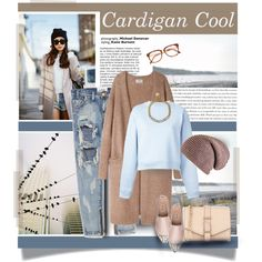 How To Wear Long Cardigan Cool Outfit Idea 2017 - Fashion Trends Ready To Wear For Plus Size, Curvy Women Over 20, 30, 40, 50