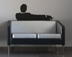 Mad Business Men Sitting On Couch Smoking Removable Vinyl Wall Art Don draper mad men office wall decor couch art wall sticker tv show Office Wall Decor, Office Walls, Wall Stickers Tv, Wall Decals, Man Office, Removable Wall, Vinyl Wall Art, Mad Men, Business Men