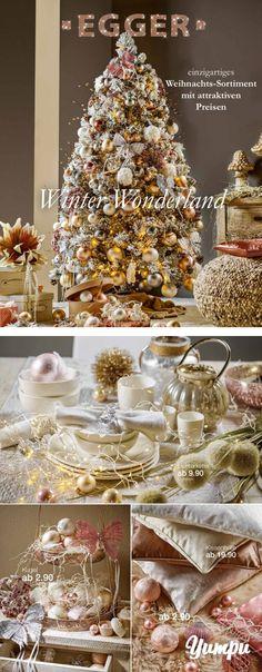 Weihnachts-Prospekt - Winter Wonderland - einzigartiges Weihnachts-Sortiment mit attraktiven Preisen.