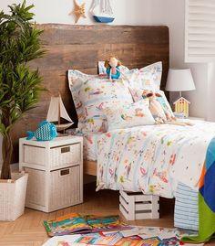 Ropa de cama infantil alegre y veraniega de Zara Home Kids - Mamidecora