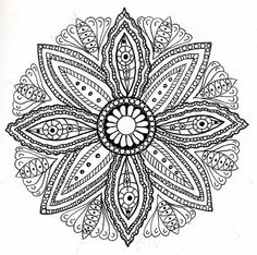 mandala, id love this in my tattoo