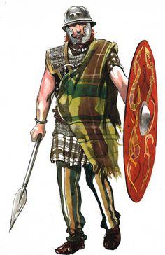 Gallic Warrior by pegasusandco on deviantART