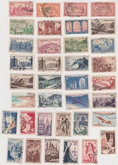 Cancelled France Postage Stamps , http://www.amazon.com/dp/B00C2YHIY8/ref=cm_sw_r_pi_dp_jXjvrb1CM67GE
