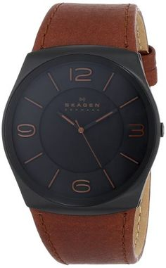 17 best images about watches nixon watches rolex skagen men s skw6040 perspektiv analog display analog quartz brown watch