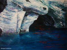 ΜΗΛΟΣ Ι, λάδι σε καμβά, 70x50cm, 2010 MILOS I, oil on canvas, 70x50cm, 2010