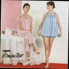 two brothers play dress-up, but for younger brother John, he thinks it's just a naughty bit of fun whilst their mother's away for a few days . Classic Lingerie, Retro Lingerie, Women Lingerie, Babydoll Lingerie, Baby Doll Pajamas, Baby Dolls, Petticoated Boys, Sissy Boys, Pinterest Girls