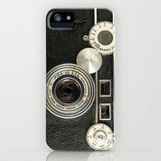 Vintage Range finder camera. iPhone Case by Wood-n-Images - $35.00