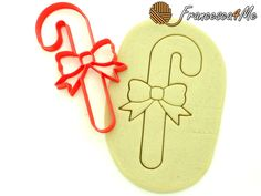 Candy Cane Cookie Cutter/Multi-Size by Francesca4me on Etsy
