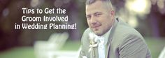Planning a wedding isn't just for the bride – the groom can become highly involved too! Give him something in his wheelhouse. What is he good at? What does he enjoy doing? What is most important to him? Work with that! Remember, it is his wedding too and his opinion matters. So having him involved is important! Here are some ideas: #Groom #WeddingPlanning